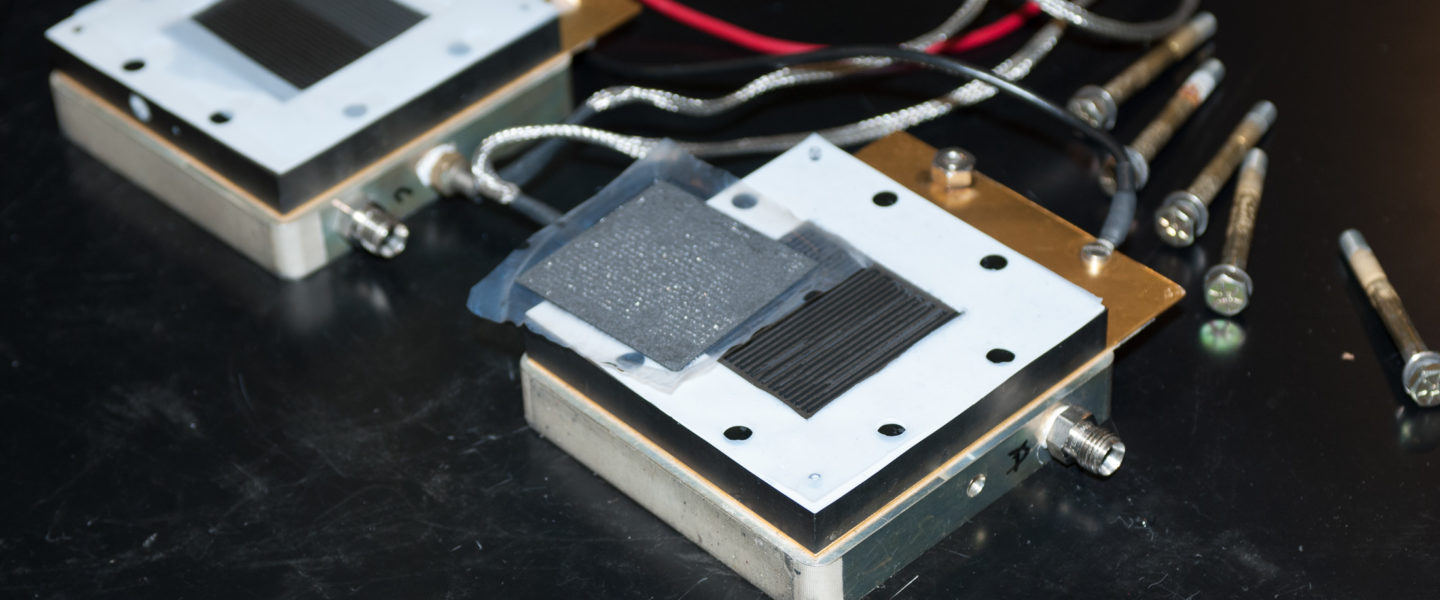 fuel cell components, photo
