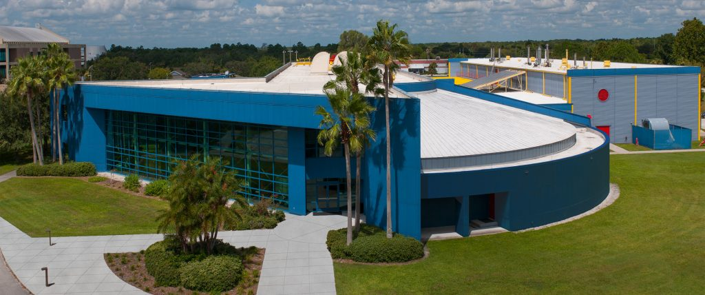 FSEC Energy Research Center Building Aerial Which has experience in renewable energy systems and building science