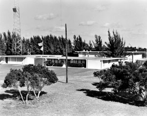 Photo from 1975 showing the original campus of FSEC on Cape Canaveral