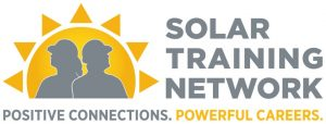 Solar Training Network. Positive Connections. Powerful Careers. Logo