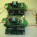 Multi-port converter photograph of actual circuit board-type electronics