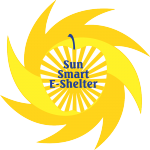 SunSmart E-Shelter logo