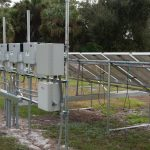inverters and pv panels, photo