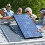 PV installers continuing education course, photo