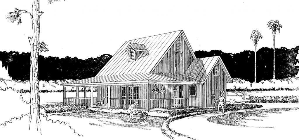 Photo of the Cross Creek home