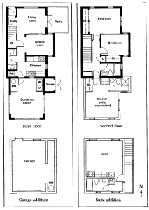 Snadstone Villas floor plans