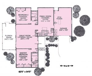 Shady Haven Floorplan