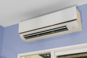 Indoor unit of a split-system Air Conditioner.