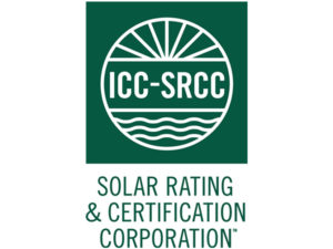 ICC-SRCC Solar Rating & Certification Corporation