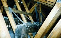 duct in attic