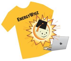EnergyWhiz t-shirt design content
