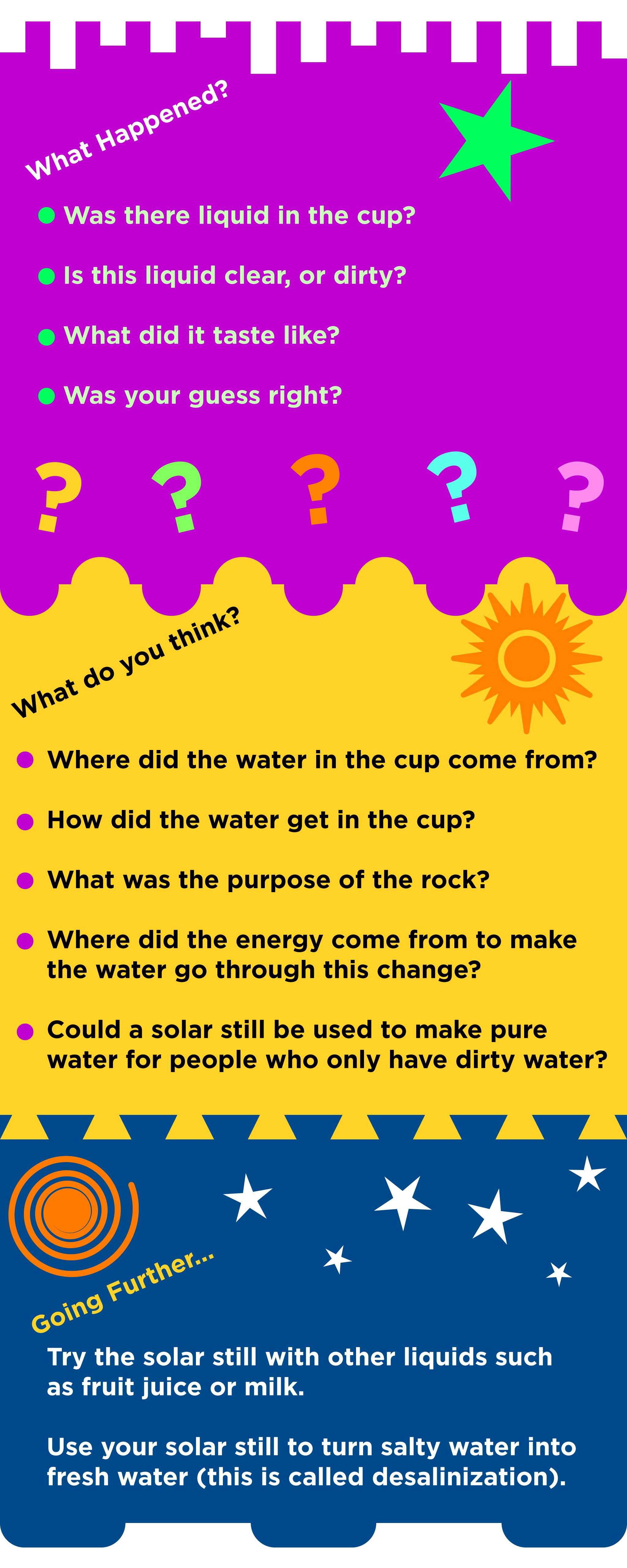 solar still instructions