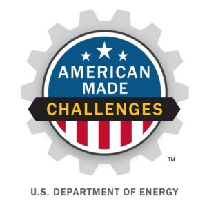 American Made Challenges, logo. A U.S. Department of Energy program.